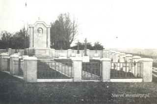 cmentarz w Brzostku przed rokiem 1918