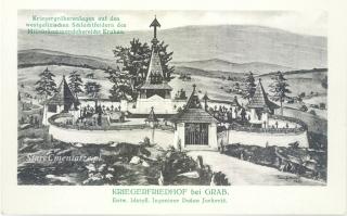 Grab cmentarz pocztówka