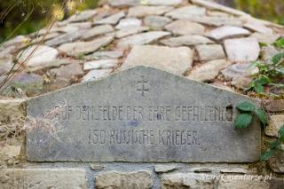 Ożenna cmentarz inskrypcja