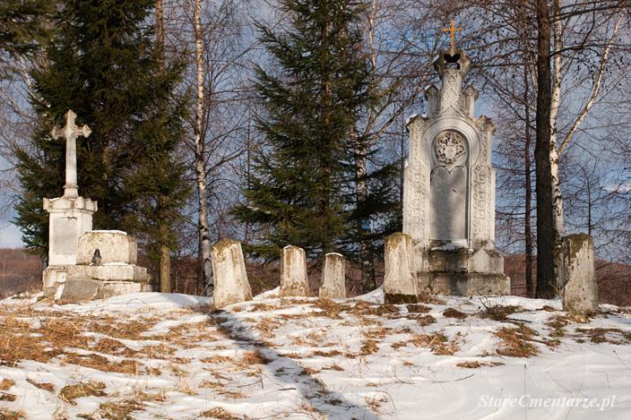 Łężyny cmentarz rodowy Lisowieckich