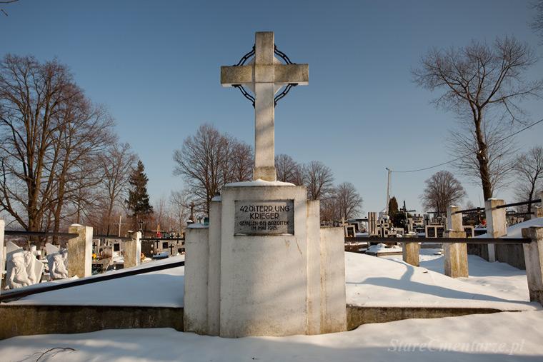 Brzostek cmentarz nr 225 – Kriegerfriedhof.
