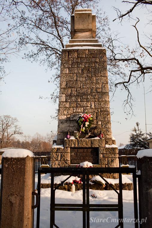 Czarna cmentarz z I wojny światowej