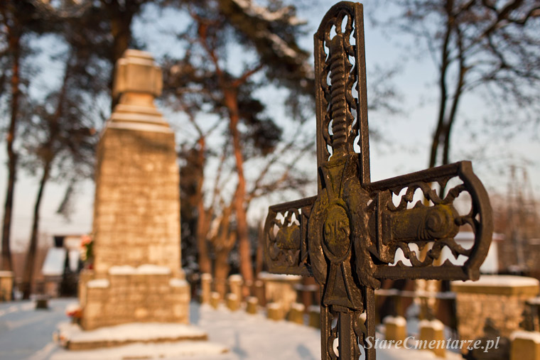 Czarna cmentarz wojenny z I wojny światowej