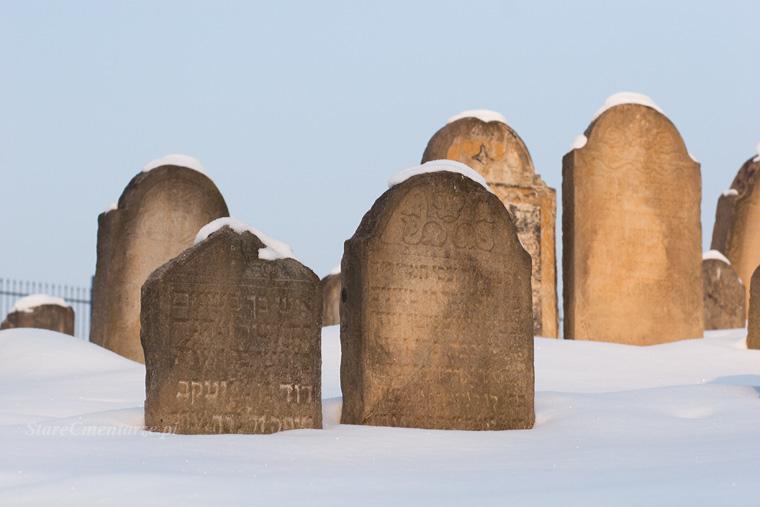 cmentarz żydowski w Ryglicach