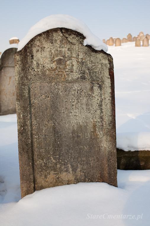Ryglice cmentarz żydowski86