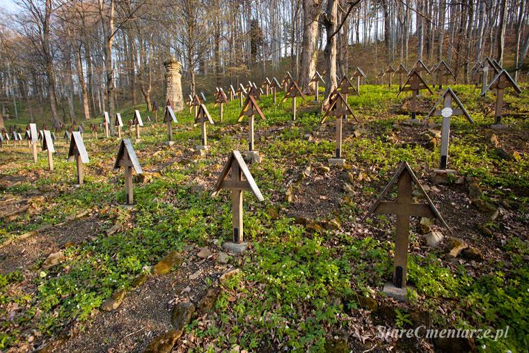 cmentarz Łużna-Pustki