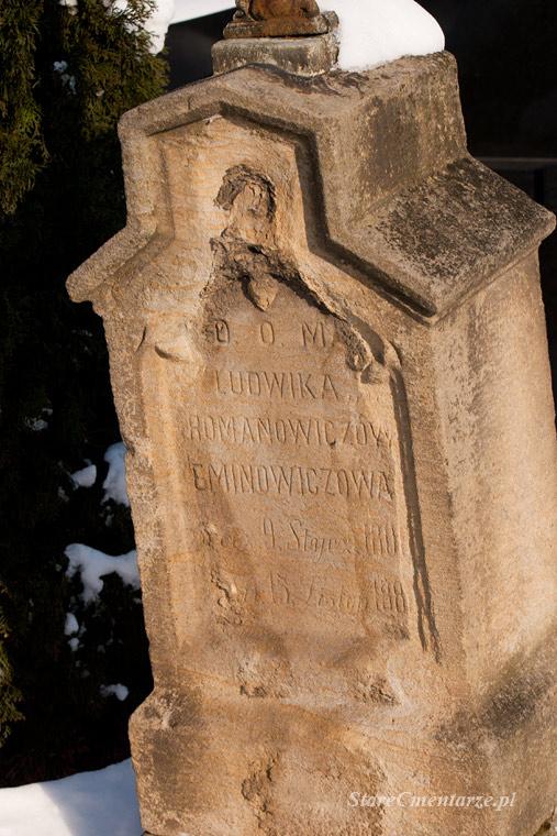 Ludwika z Romanowiczów Eminowiczowa