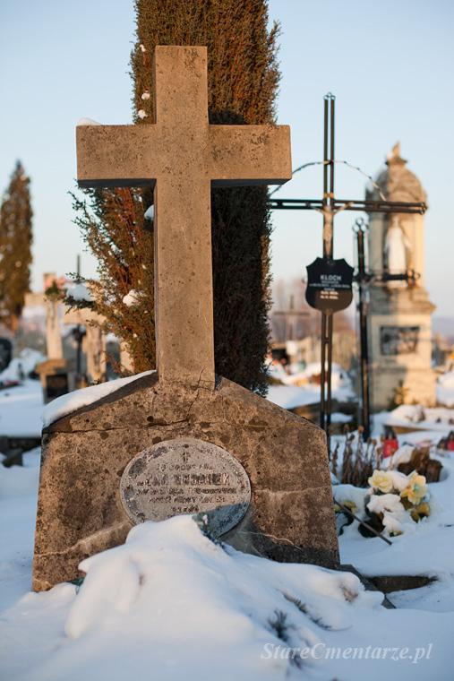 Pilzno cmentarz Jan Urbanek