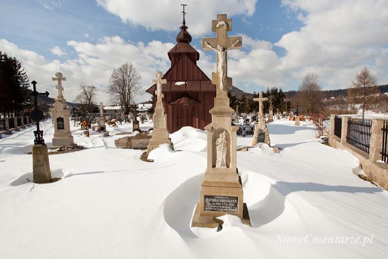 Uście Gorlickie cmentarz