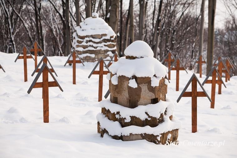 Łużna-Pustki cmentarz z I wojny św.