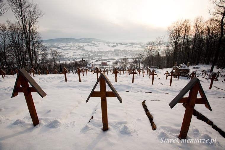 Luzna Pustki domb Luzna temető