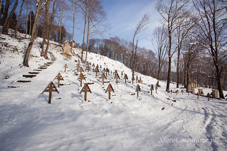 Łużna-Pustki cmentarz wojenny
