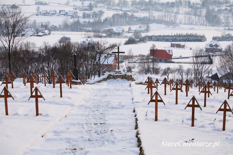 Łużna cmentarz na Pustkach
