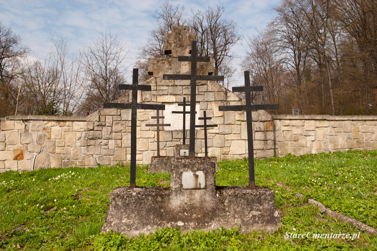 Łużna Kriegerfriedhof Nr 122