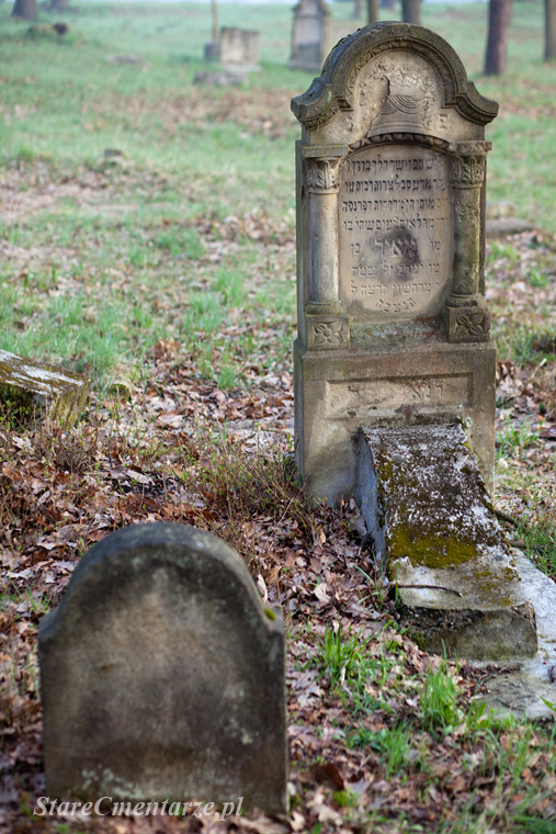 jewish old cemetery in Poland