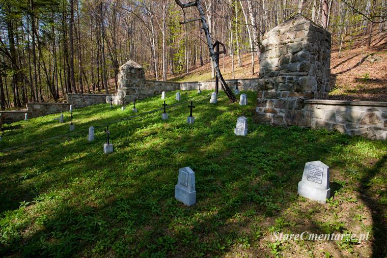 Małastów (Kornuta) cmentarz wojenny nr 65 – Kriegerfriedhof.