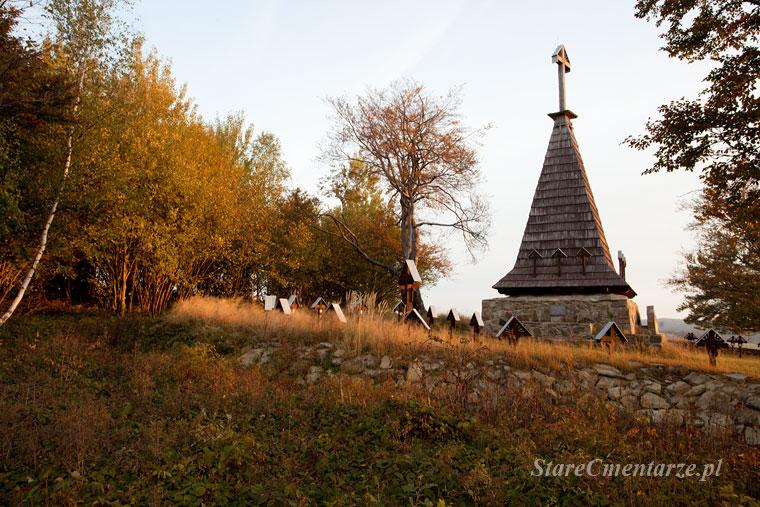 cmentarz wojenney w Grab