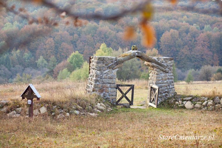 Beskid Niski cmentarze wojenne