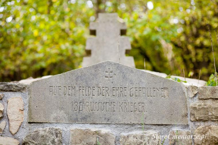 Ożenna cmentarz inskrycja