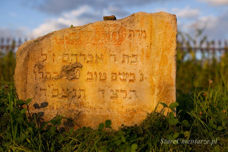 Brzostek cmentarz żydowski