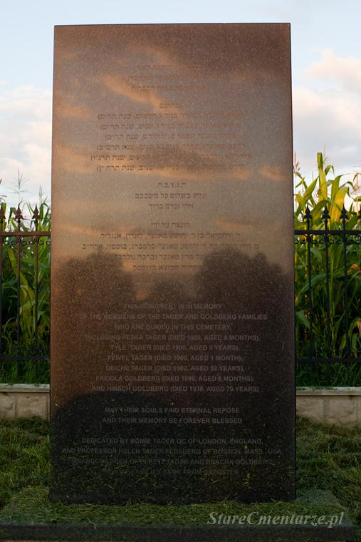 Brzostek pomnik na cmentarzu