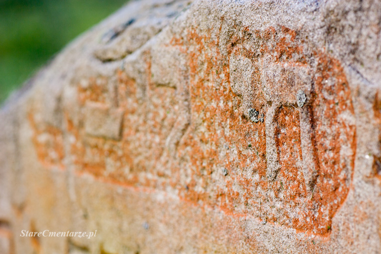 polichromia na nagrobkach żydowskich