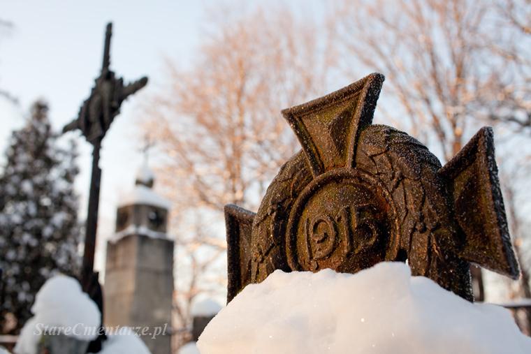 Łęki Górne cmentarz wojskowy