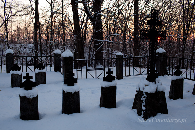 Łęki Górne cmentarz z I wojny światowej