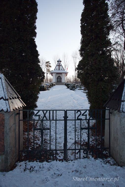 Łowczówek cmentarz legionistów polskich