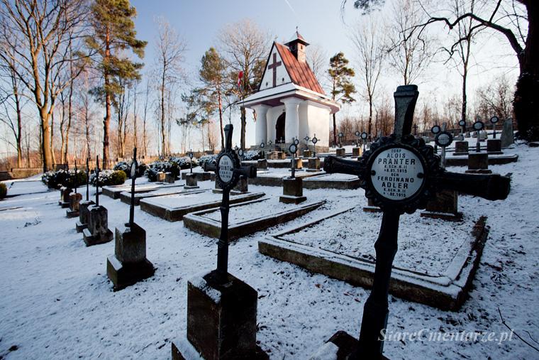 Łowczówek cmentarz z I wojny światowej