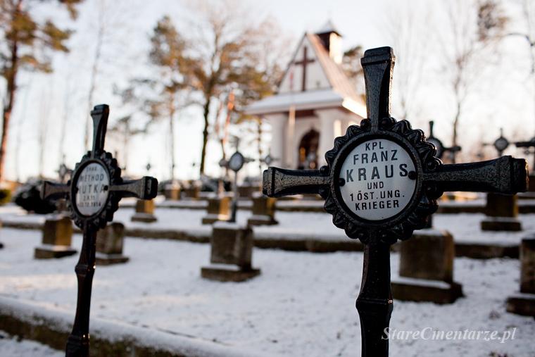 cmentarz wojenny w Łowczówku