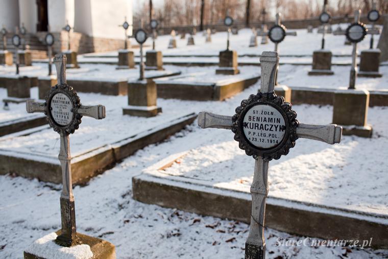 Łowczówek groby legionistów