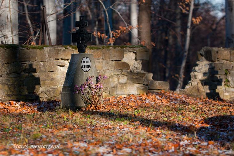 vojnový cintorín z prvej svetovej vojne