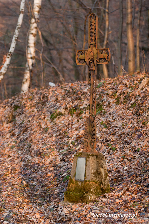 duży krzyż żeliwny