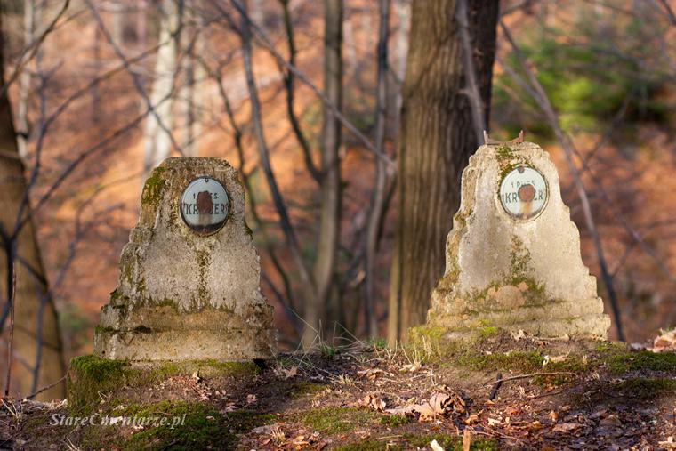 Golanka cmentarz nagrobki
