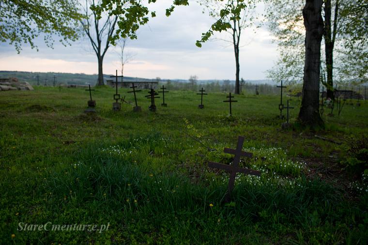 Ołpiny cmentarz z I wojny światowej
