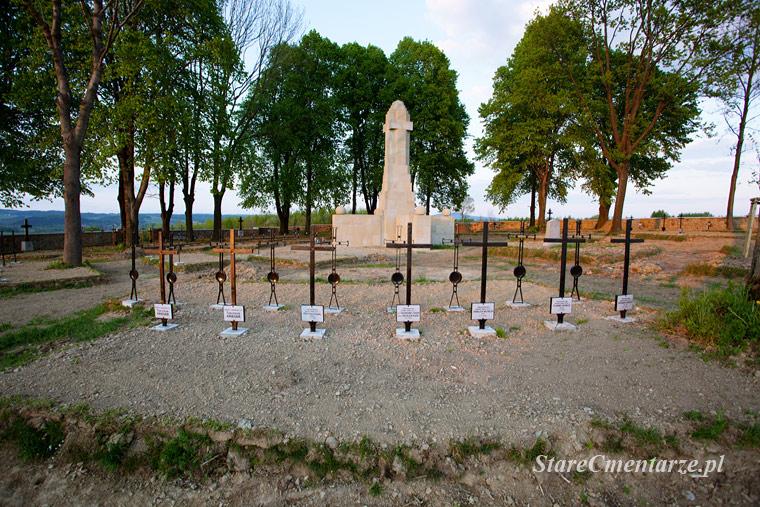 Ołpiny cmentarz po remoncie