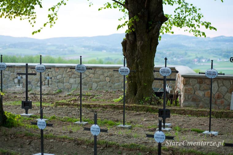 cmentarze wojenne w zachodniej galicji