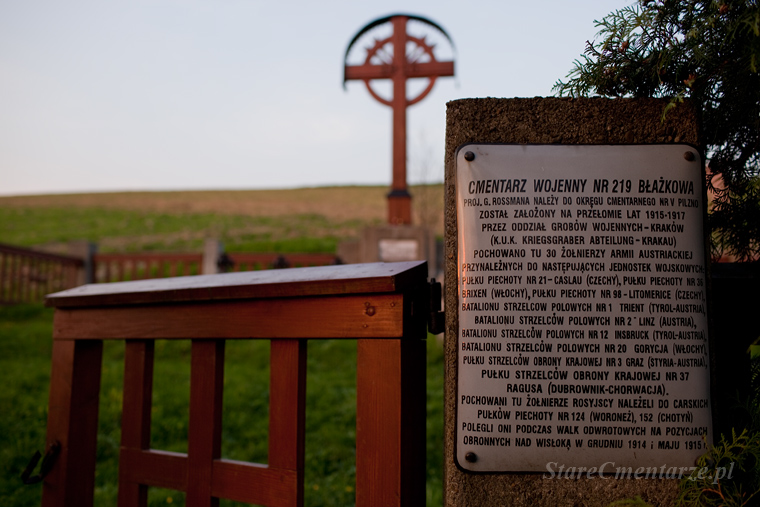 Błażkowa Kriegerfriedhof nr 19