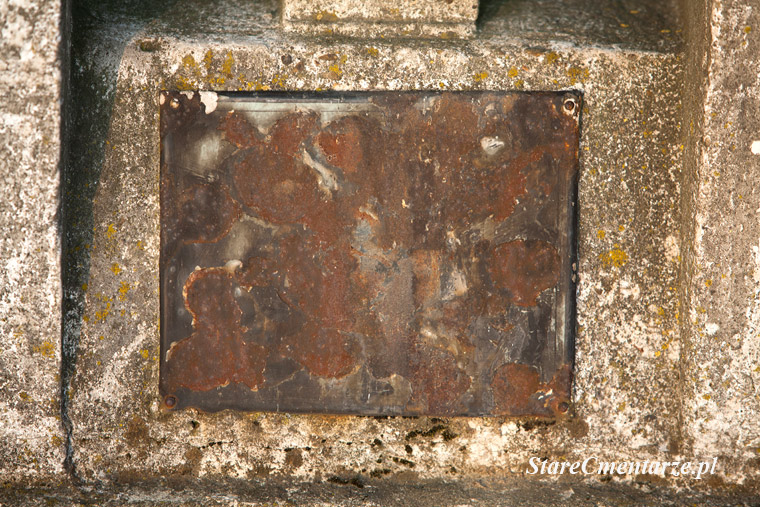 Łęka Siedlecka tabliczka