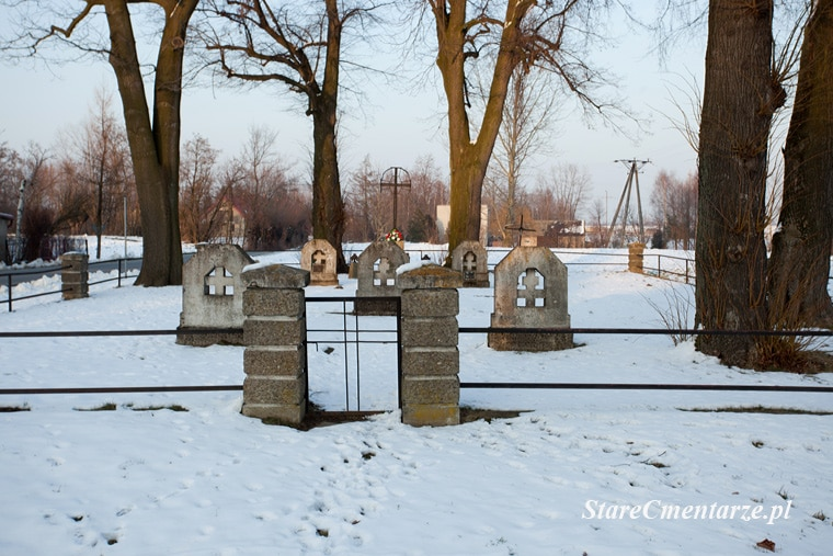 Łęka Siedlecka cmentarz