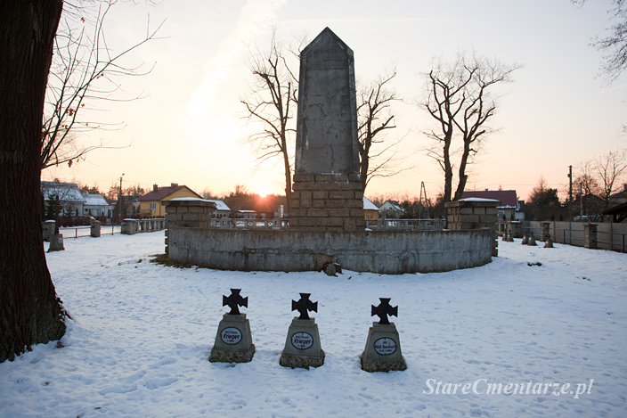 Niwka pomnik cmentarz