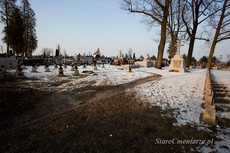 Radłów cmentarz z I wojny św.