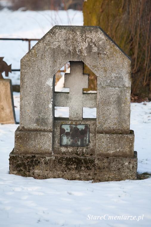 Łęka Siedlecka cmentarz z I wojny światowej