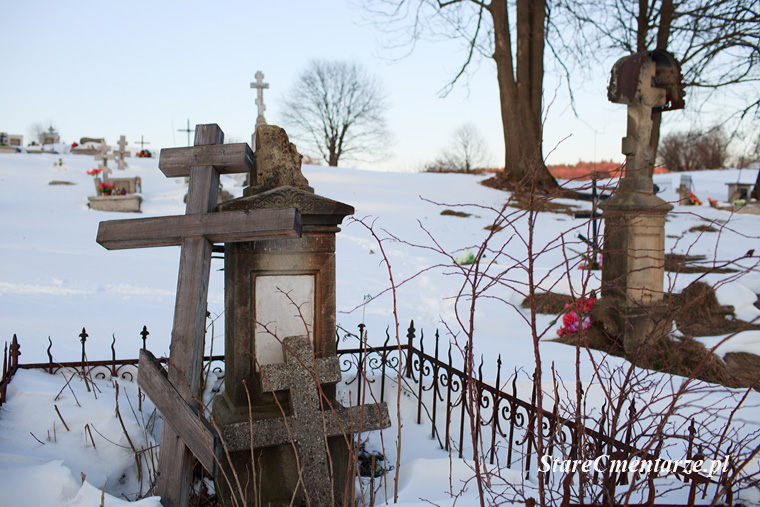 stary łemkowski cmentarz
