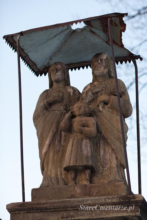 Zdynia rzeźba św. rodziny