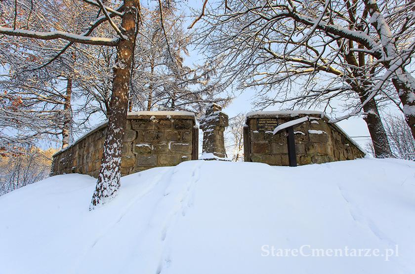 Męcina Wielka Cmentarz wojenny nr 81