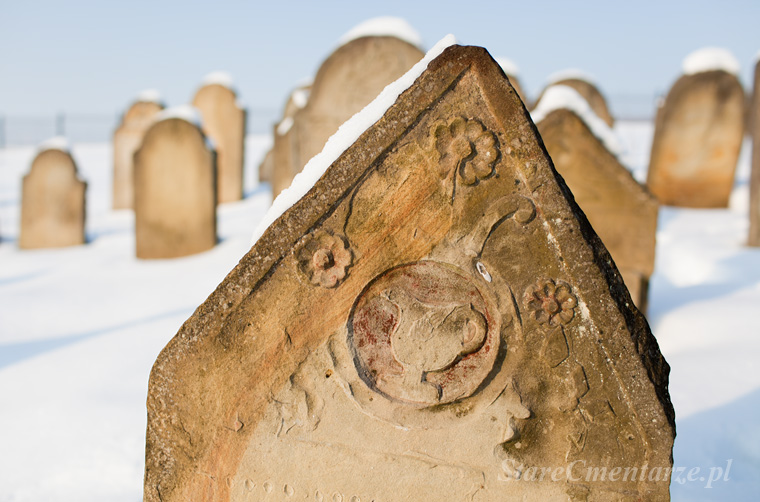 old jewish cementery foto